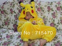 Cute Cartoon Animal Anime Pokemon Pikachu Unisex Pajamas Children Anime Cosplay Costume