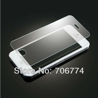 Tempered Glass Films For iphone 4 4s Anti-Shatter Screen Guard 50pcs/lot Free Shipping