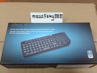 Free shipping RII K01 3 one 1 MINI 2.4G wireless keyboard and mouse touch pad + Laser Pointer computer keyboard