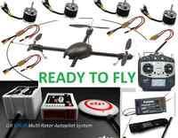 READY TO FLY : GAUI 500X QuadFlyer + FUTABA 8FG Radio + DJI WK-M Multi-Rotor Autopilot