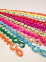 Free shipping Four-leaf bracelet Hot Selling 100% Good Quality Fashion Italy LIGHT  Round lace bracelet Mars Lace Bracelet