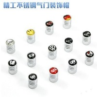 Wholesale 4pcs creative  aluminium Car alloyTire Tyre Wheel Valve Caps, Free & Drop Shipping101