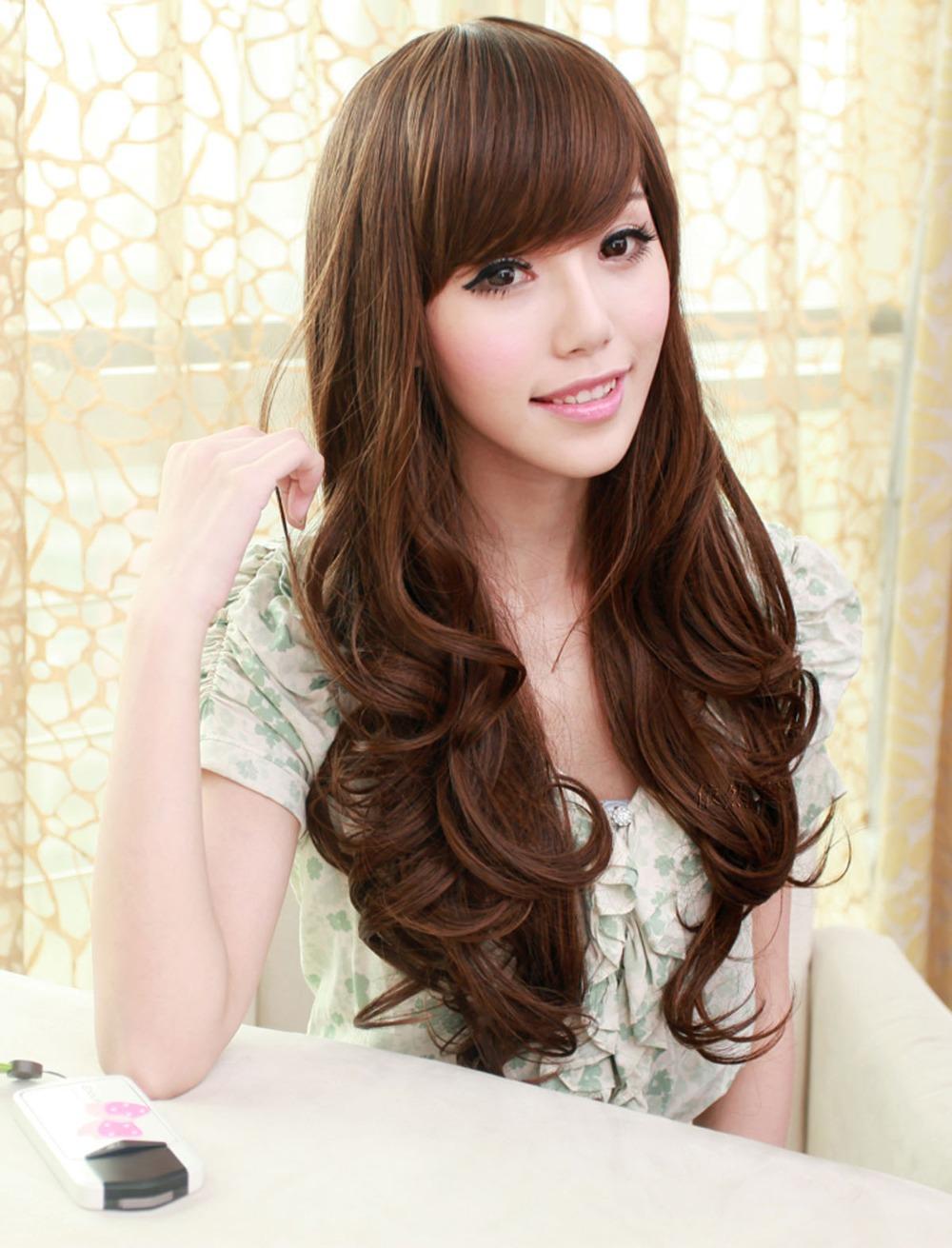 Korean Girls Long Hairstyles | Cute Hairstyles 2016