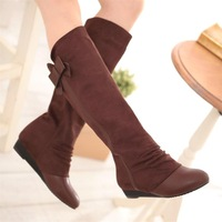High-leg boots autumn and winter casual boots gladiator