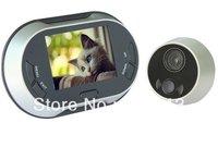 Hong Kong Post Cheapes Diy 3.5 inch TFT color display screen video peep hole viewer memory function