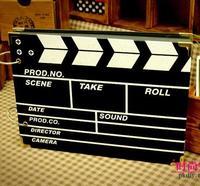 Diy movie style photo album 10 big ben handmade photo album( free gift 204 corner posts+ pen)freeshipping