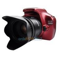 O3T# 52mm Flower Petal Camera Lens Hood for Nikon Canon Sony 52mm Lens Camera