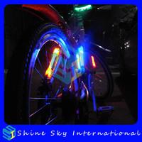 Multifunctional fiber flare bike safety lights 2 pcs/lot Free Shipping