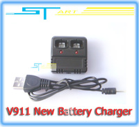 New Verison Battery charger V911-21 Spare part Accessory for 2.4G 4ch for WL V911 RC Helicopter Battery Free Shipping