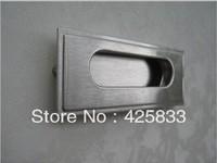 10pcs 64mm 304 Stainless Steel Flush Pull Modern Furniture Handles Dresser Pulls Drawer Knobs Kitchen Cabinet Pulls Hardware