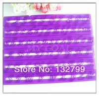 Purple Number Letters Cake Cutter Paste Fondant Frill Edge Straight Frilling Tool 6pcs/set
