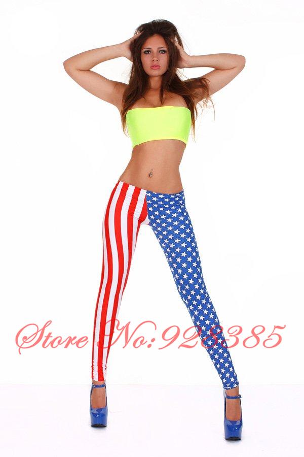 Wholesale-American-Flag-Leggings-Red-Sti