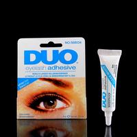 Free shipping 2014 Makeup DUO Eyelash Glue white Adhesive False Eyelash Glue For Professional Clear,2pcs/lot