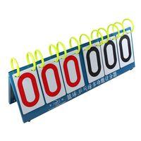 Free Shipping Hot Nice 6 Digit Flip A Score Multi Sports Flip used scoreboard for sale for Basketball Tennis
