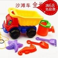 Child beach toy cartoon beach car set toy swimming toys sand tools