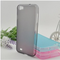 Transparent TPU Soft Case for ZOPO C2 Cover  Free Shipping