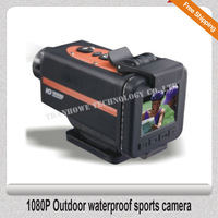 Free Shipping!!1080P Outdoor waterproof sports camera
