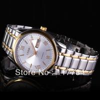 Swiss watch male table calendar weeks between luminous display gold & stainless steel automatic mechanical watch men's watch