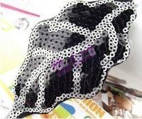 Fs67 pop star heart type handmade leaves love pearl size rhinestone brooch hair accessory