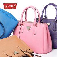 Fashion genuine leather handbag women's 2013 women's cowhide handbag work bag one shoulder handbag