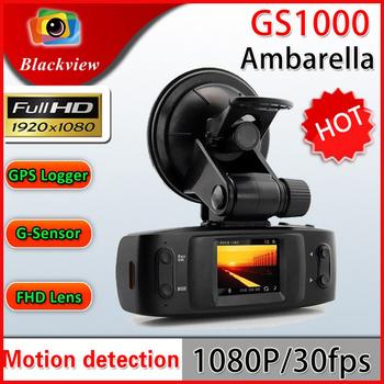 "100% Original Ambarella GS1000 GPS logger G-sensor Car DVR Recorder Full HD 1080P 30FPS 1.5"" LCD H.264 Recorder Free shipping"