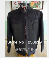 Free Shipping Wholesale  Middle-Aged High-End Men's Casual Jackets Coat ST4-69101