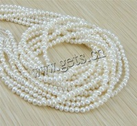 Free shipping!!!Potato Cultured Freshwater Pearl Beads,2013 fashion free shipping, natural, white, AA, 3-4mm, Hole:Approx 0.8mm