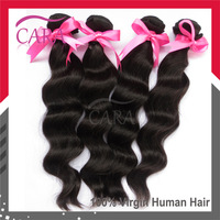 Brazilian virgin hair loose wave 12-28 inches free shipping high grade AAAAA brazilian human hair extensions hair weave
