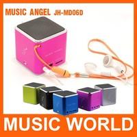 5 Colors Micro SD TF USB mini speaker for smartphone Music Angle Player