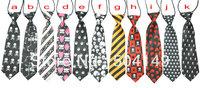 Hallowmas baby Children tie/halloween baby necktie/ Skull Skeletons Boys Girls Ties/ Baby scarf neckwear neckcloth/tie 60pcs/lot