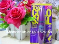 1 pcs / lot Brand Mascara Volume Express Colo SSAL Mascara, 9X THE VOLUME IN ONE COAT ,BLACK 10.7 ml FREE CHINA POST SHIPPING