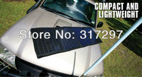 Free Shipping 40Watt Portable Solar Powered 12V Battery Charger