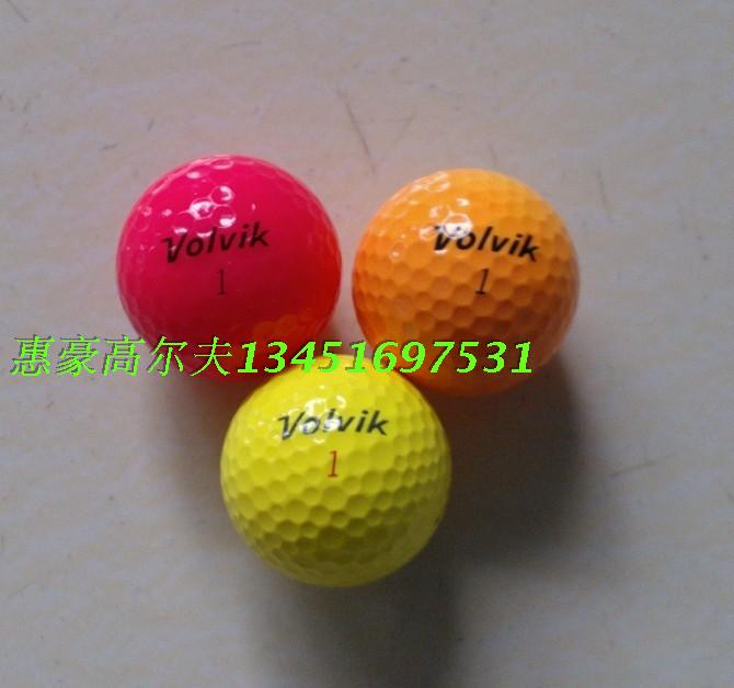 Volvik golf ball multicolour second hand golf ball(China (Mainland))