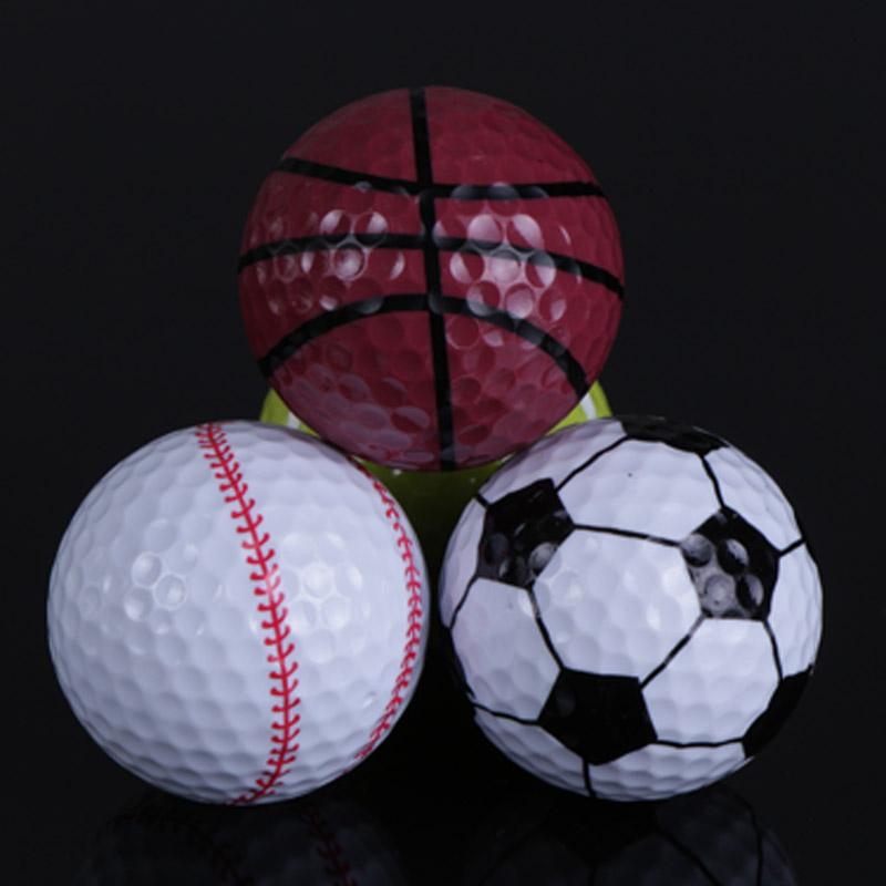 Golf ball basketball football tennis ball technology gift golf ball pattern(China (Mainland))