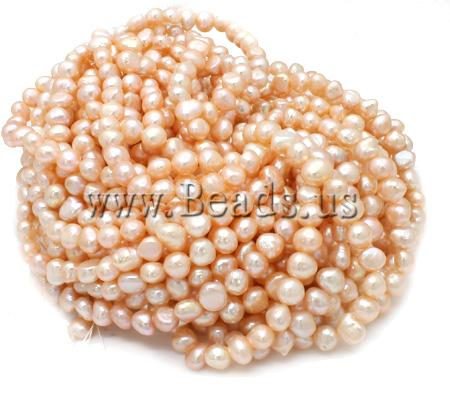 Free shipping!!!Potato Cultured Freshwater Pearl Beads,australian, natural, pink, A, 8-9mm, Hole:Approx 0.8mm, Length:15 Inch(China (Mainland))
