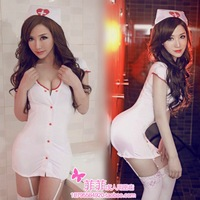 Sexy revealing lingerie Nurse clothing set sexy garter nursing uniforms