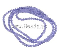 Free shipping!!!Crackle Glass Beads,clearance sale with free shipping, Round, purple, 4mm, Hole:Approx 1.5mm, Length:31 Inch