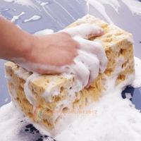 R1B1 2014 New Fashion Mini Yellow Car Auto Washing Cleaning Sponge Block