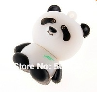 Free shipping 2GB 4GB 8GB 16GB 32GB 64GB Panda model USB Flash Drive Custom usb flash,printed usb flash drives