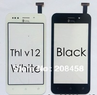 Black  New Original Touch Screen for THL V12 Digitizer by free shipping