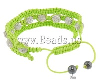 Free shipping!!!Rhinestone Shamballa Bracelets,wedding jewellery, with rhinestone, 23mm, 10mm, 8mm, Length:6-11 Inch
