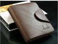 FreeShipping Men's genuine leather short wallet design wallet male short wallet multi card holder wallet  Wholesale