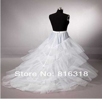 2013 the bride wedding gowns Petticoats trailing dress skirt
