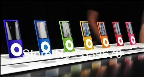 9 COLORS 8GB FM VIDEO 4TH GEN MP3 MP4 PLAYER 20pcs/lot DHL free shipping(China (Mainland))