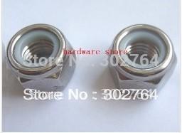 M6*100PCS SS316 DIN985 NYLON NUT STAINLESS STEEL fastener,marine boat hardware