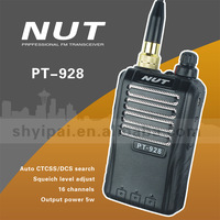 2 way radio amateur radio NUT PT-928 with 5w output power
