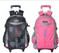 2013 trolley school bag disassemble child backpack