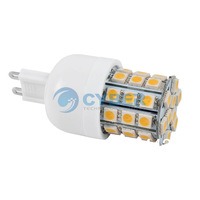 5Pcs/Lot High Quality G9 39 SMD5050 LED Corn Light Cold White/Warm White Bulb Lamp 200V-240V/3.5W 14656 14657
