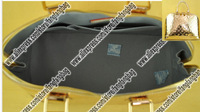 Excellent! Excellent ! LoVe vernis leather AIMA GM handbag Golden silvery alma M93624 LARGE real leather tote