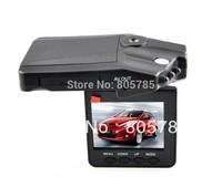 "cheap&hot! H198 Car DVR Video Registrar with  2.5"" LCD 6 IR LED Night Vision DVR Car Camera 270 degree screen rotated  Camcorder"